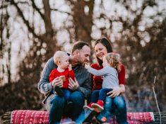 Family Photography at Cobblestone Wedding Barn Scottsville, NY