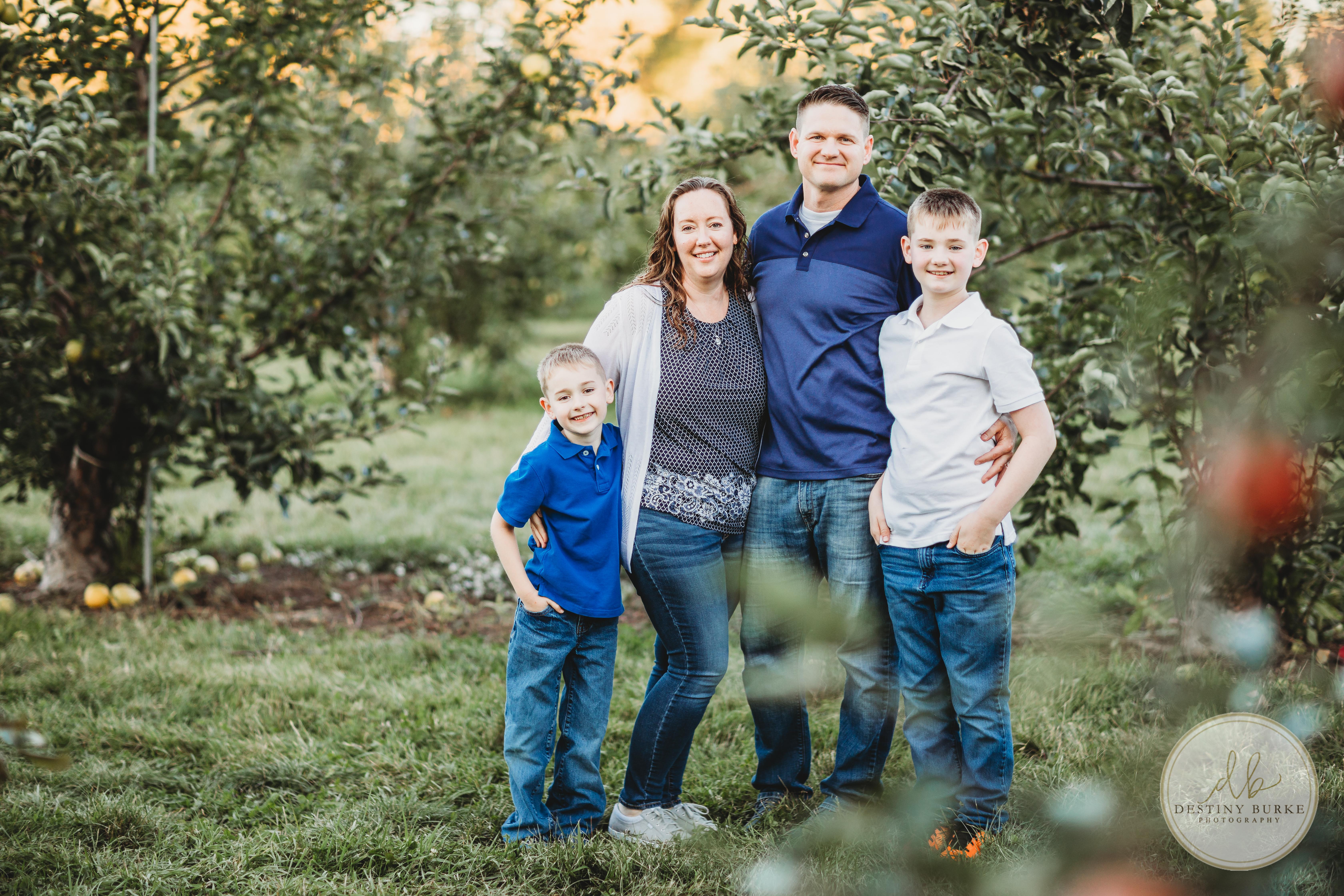 Family, Photography, Apple Tree Farm,