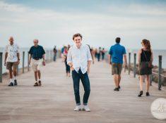 Senior Photography Ontario County Park Beach Pier