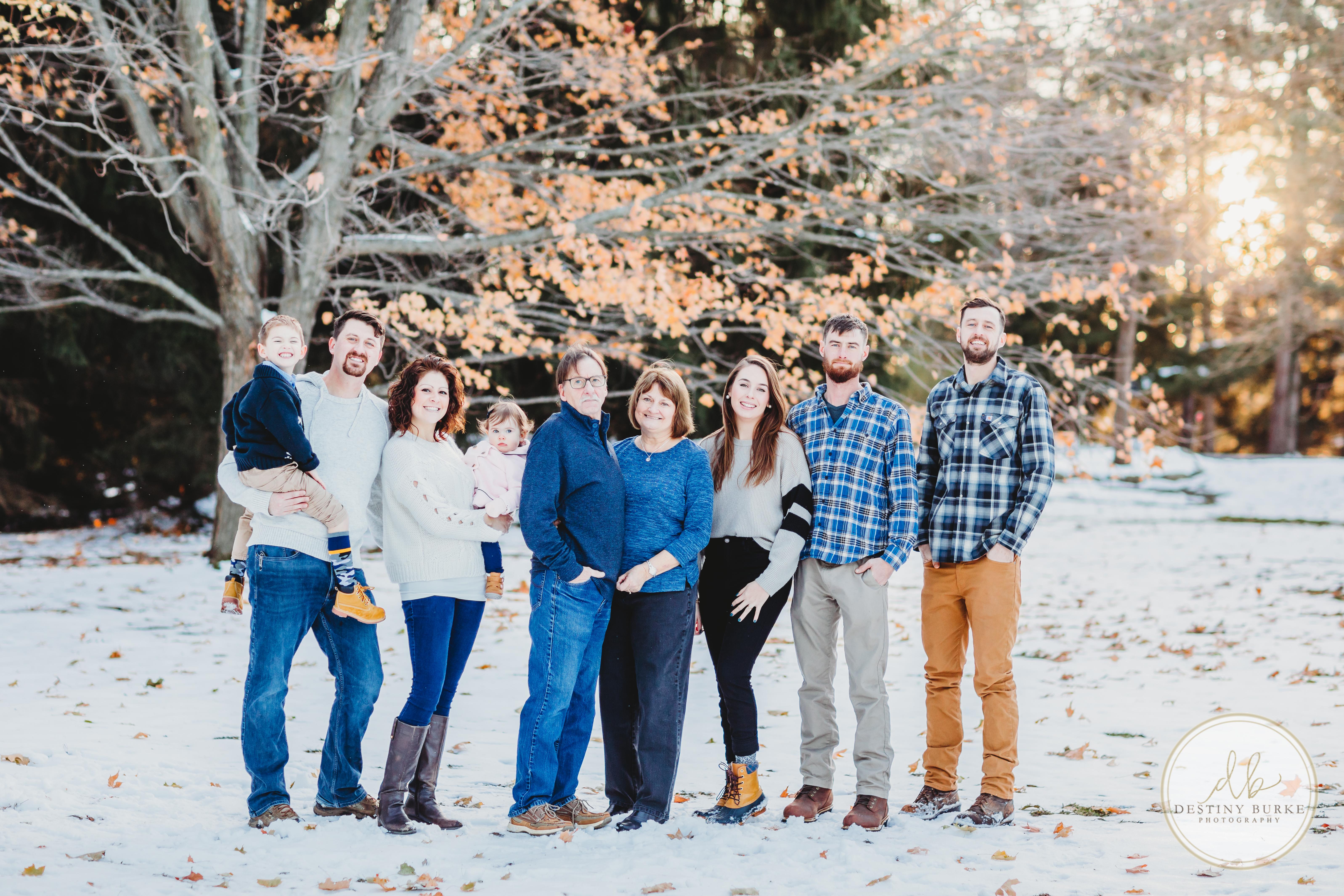 Family, Photography, Caledonia, NY, Group photo, Reunion,