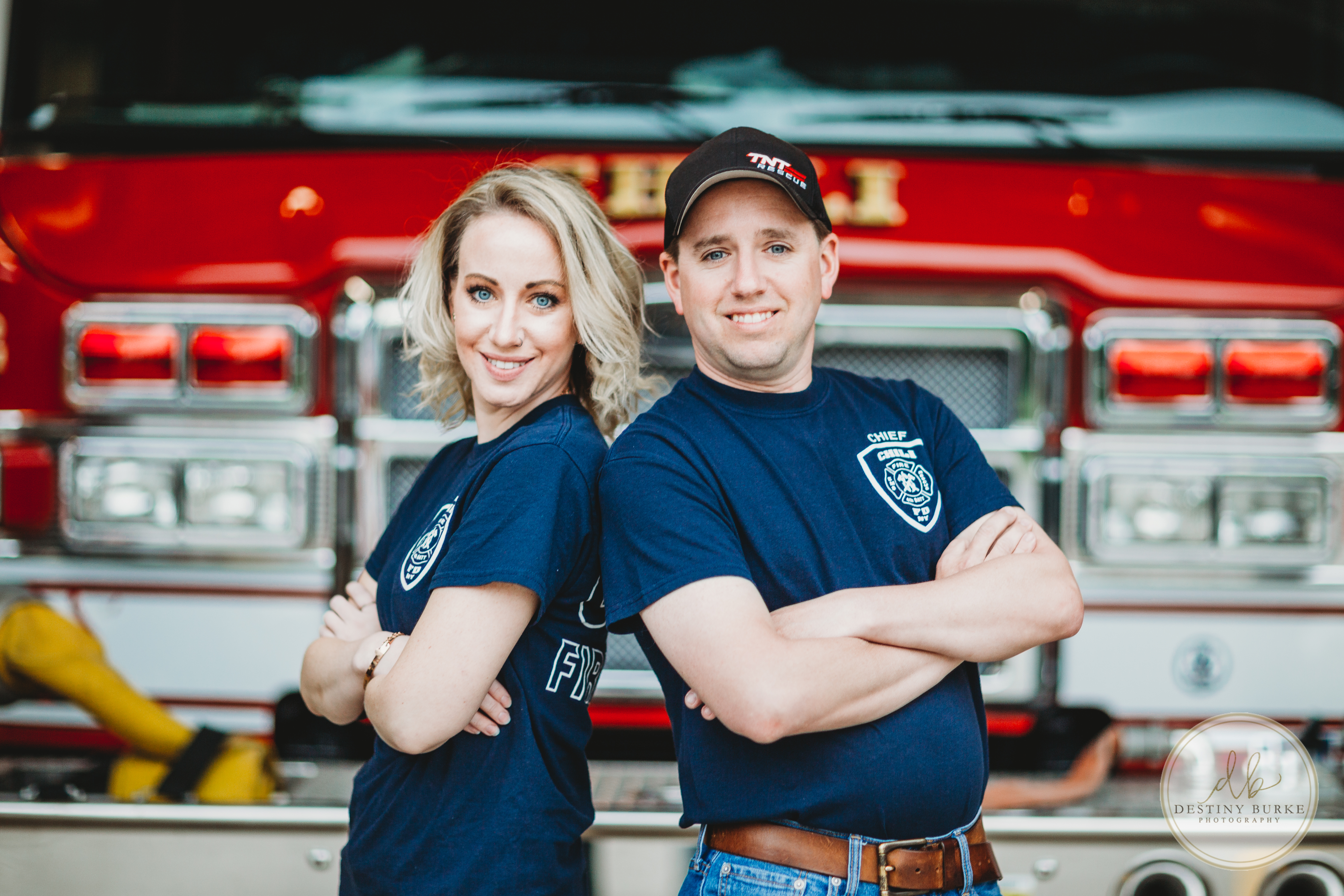 Fire Department Family Photography Upstate Rochester NY