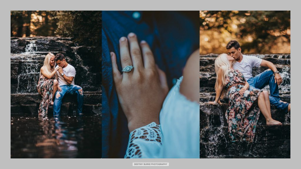 Engagement Photography Corbetts Glen Nature Park Brighton, NY