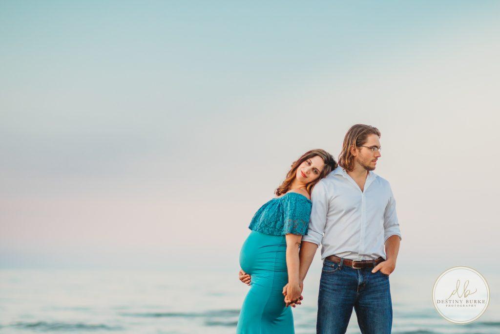 maternity, photography, ontario beach park, rochester, ny