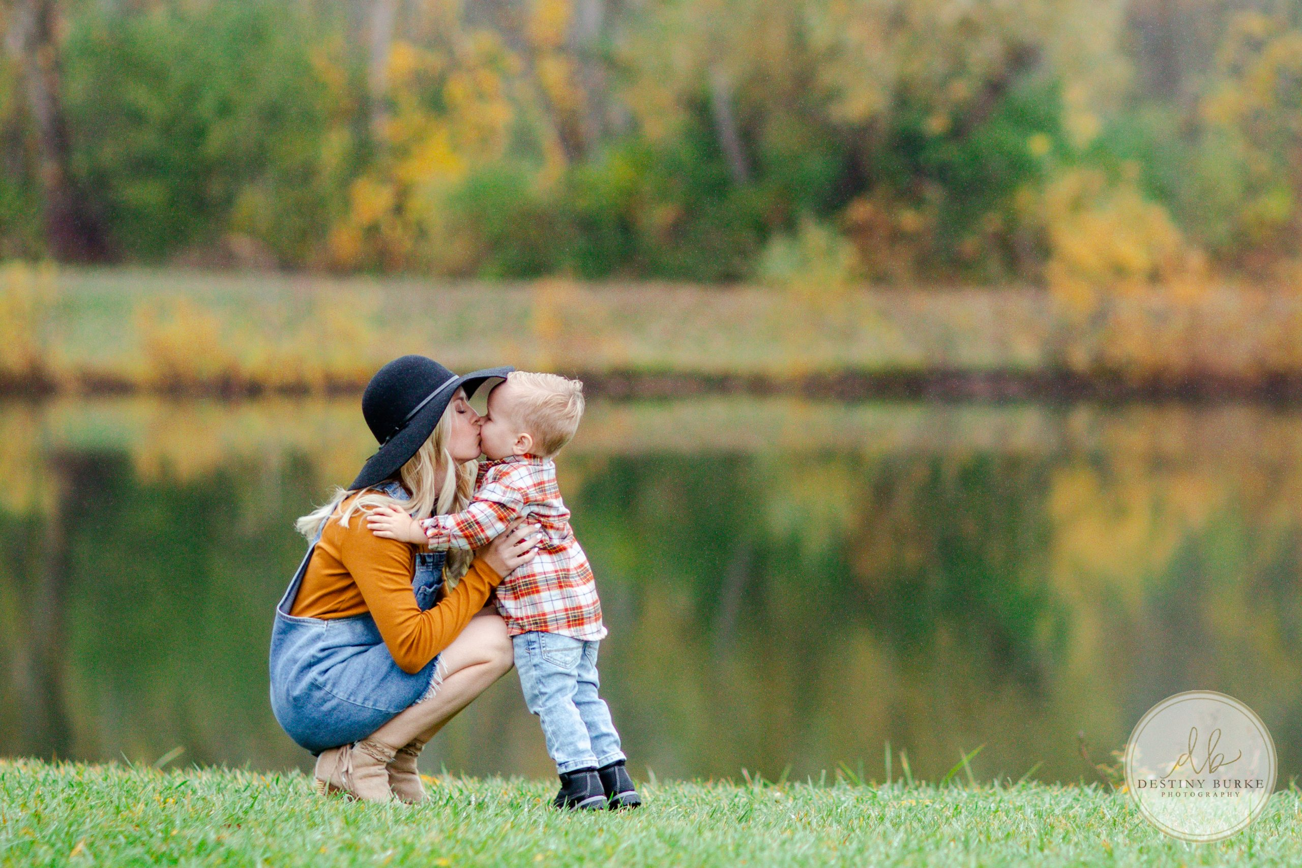 Mommy, Mom, Mommy and Me, Love, Boy, Child, Park, Leaves, Fall, Autumn