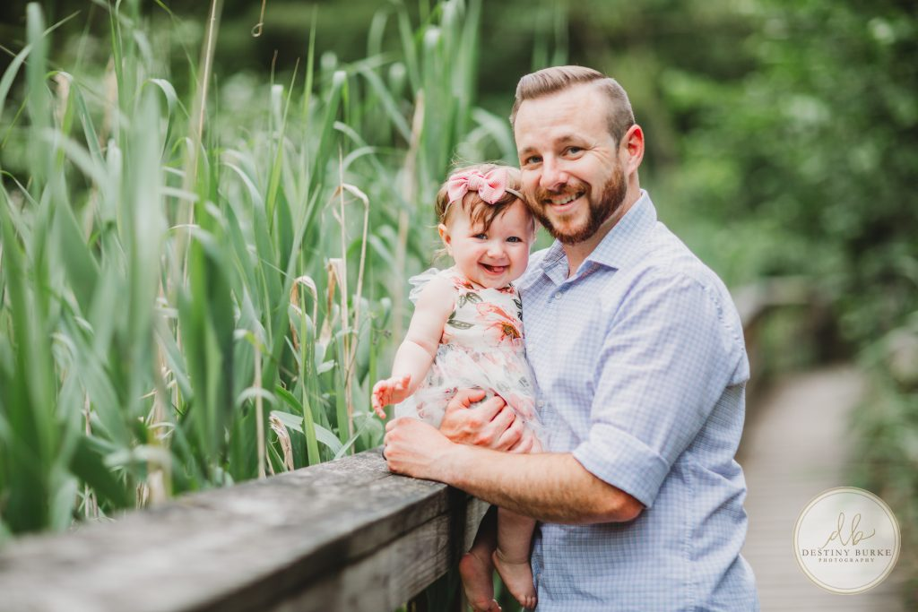 Father, Daughter, Helmer Nature Center